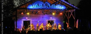 Shakori Hills is a music festival that happens twice a year in Silk Hope. Photo courtesy of Kevin James.