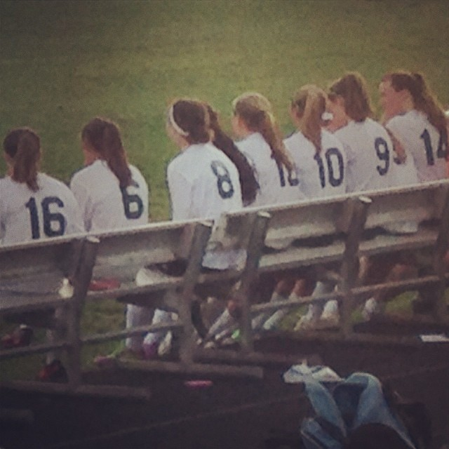 Varsity Girls' Soccer Senior Night! #seniors #2014 #soccer
