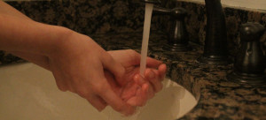Hand washing is a common compulsion associated with Obsessive-Compulsive Disorder. This compulsion often correlates with an obsession relating to contamination. Becca Heilman/The Omniscient