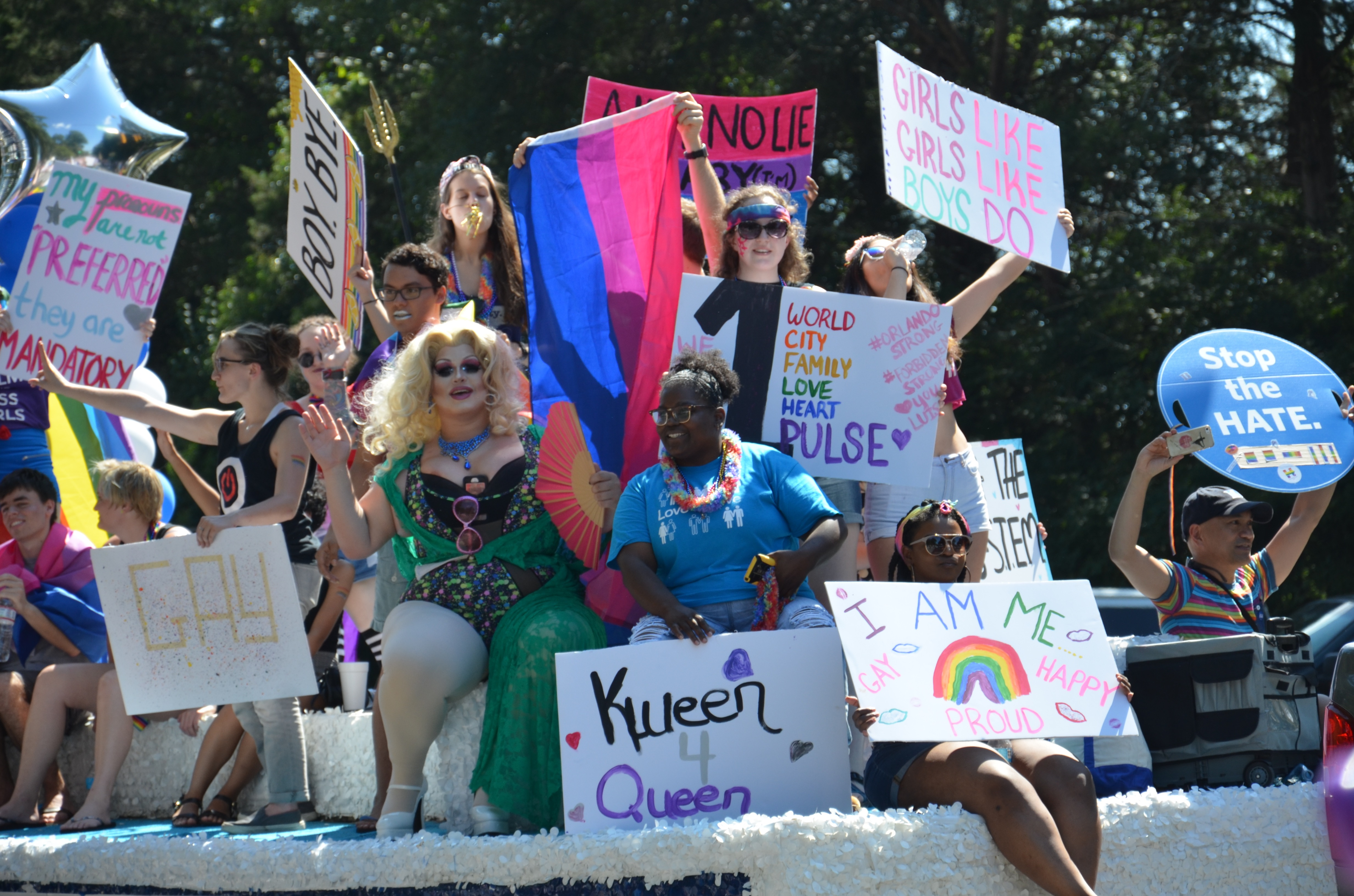 Gallery: NC Pride Parade and Festival 9/24/16